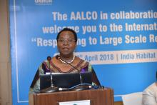 Seminar on Responding to Large Scale Refugee Movements organized by AALCO-UNHCR on 18 April 2018