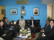 Official Visit of the New Member of Japan to AALCO to the Headquarters of AALCO