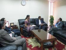 Dr. A. Rohan Perera visit to AALCO